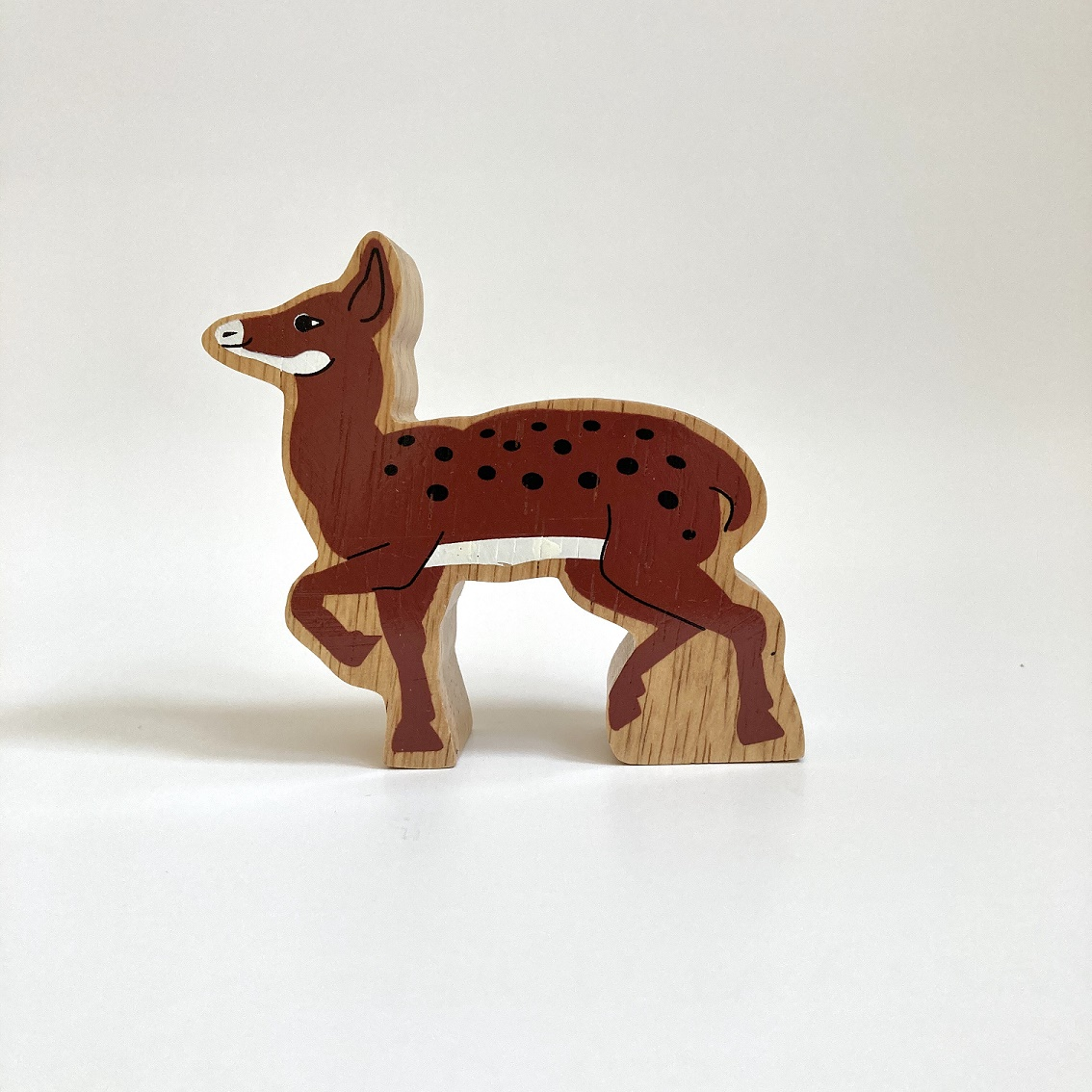 Fair Trade St Paul's Wooden Painted Deer