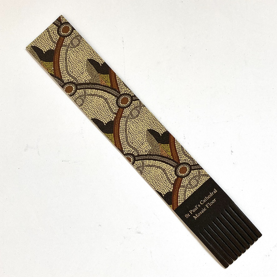 St Paul's Cathedral Mosaic Floor Leather Bookmark